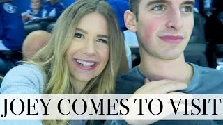 Download PICKING UP JOEY FROM THE AIRPORT    Vlogmas Day 8 Video