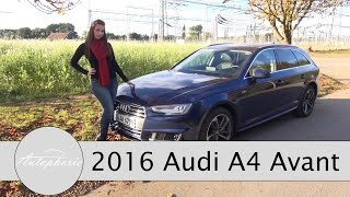 Download 2016 Audi A4 Avant 2.0 TDI quattro (190 PS) Test / Fahrbericht / Review - Autophorie Video