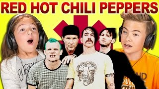 Download KIDS REACT TO RED HOT CHILI PEPPERS Video