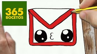 Download COMO DIBUJAR LOGO GMAIL KAWAII PASO A PASO - Dibujos kawaii faciles - How to draw a logo Gmail Video