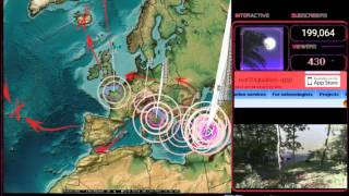 Download 7/24/2017 - English Channel Earthquake struck as expected - New Europe EQ watch Video