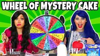 Download MYSTERY WHEEL OF CAKE CHALLENGE. (Descendants 2 Dress Up) 2018 Video
