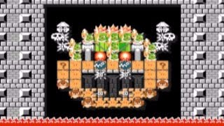 Super Mario Maker   Glowing Bowser Face Tutorial {Tips