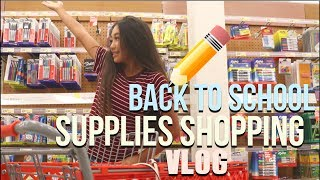 Download BACK TO SCHOOL SUPPLIES SHOPPING 2017!! VLOG Video