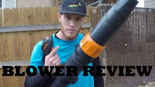 Download Stihl Blower Review - BR 450 See it in Action! Video