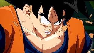 Download Dragon Ball FighterZ Easter Egg: Goku Turns Super Saiyan For the First Time Video