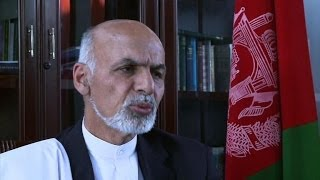 Download Afghan poll hopeful Ghani wants Pakistan 'special relationship' Video