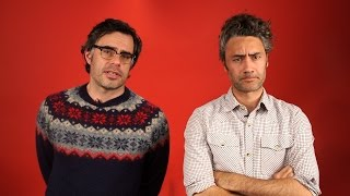 Download Falling in love with Jemaine Clement and Taiki Waititi Video
