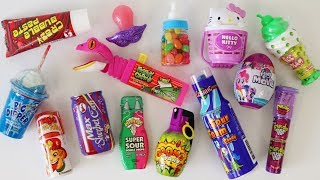 Download Mixing crazy candy lollipop ice cream slime candy jelly beans toy candy dispensers Video