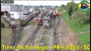 Download 140 - TRENS EM RIO NEGRO - PR E MAFRA - SC - 22.10.2014 - CANAL LELOTREM Video