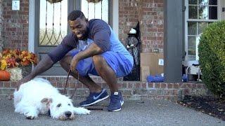 Download Man's Best Friend: Delanie Walker & Lord Cushman   NFL Fan Pass Video