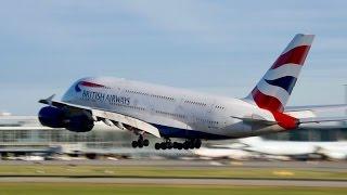 Download **VERY LOW GO-AROUND** British Airways Airbus A380-841 [G-XLEH] at YVR Video
