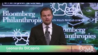 Download Leonardo DiCaprio Speaks to the Climate Summit for Local Leaders Video