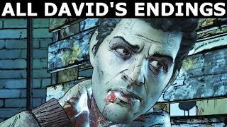 Download All David's Deaths & Endings - The Walking Dead Episode 5 (Season 3 A New Frontier) Video