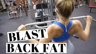 Download Get RID Of BACK FAT | Full Back Workout Video