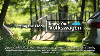 Download Knowing Your VW: 2018 Volkswagen   Setting the Clock Video