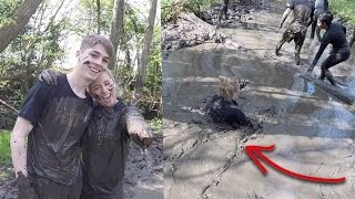 Download The hardest challenge of my life! GETTING DROWNED AND SWIMMING THROUGH MUD!😱! Video