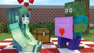 Download Monster School : Valentine's Day - Minecraft Animation Video