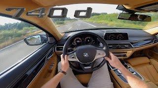 Download BMW 7 Series 2017 740d ACCELERATION & TOP SPEED Interior POV Test Drive AUTOBAHN Video