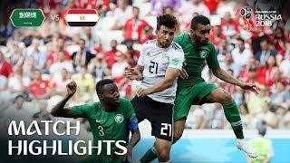 Download Saudi Arabia v Egypt - 2018 FIFA World Cup Russia™ - Match 34 Video