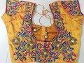 Download Latest bridal blouse designs | Bridal Maggam work designs | Latest Bridal maggam work Blouse Designs Video