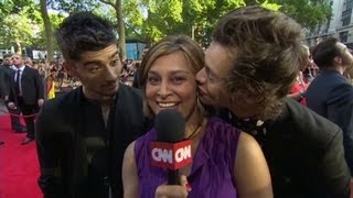 Download One Direction try to distract CNN's Zain Video