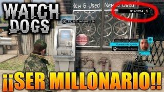 Download Watch Dogs PS4 | ¡¡Ser Millonario en Watch Dogs!! 9.140.924 $ | Galgo96ESP Video