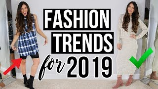 Download Styling & Testing FASHION TRENDS for 2019! Video