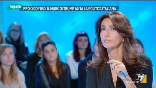 Download Tagadà - Pro o contro. Il muro di Trump agita la politica italiana (Puntata 14/11/2016) Video