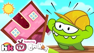 Download Om Nom Stories: Pretend Play House Building Cut the Rope Funny Cartoons for Children by HooplaKidzTV Video