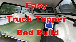 Download How To Build A Simple Truck Topper Bed For Truck Camping Video