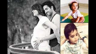 Download Ayushman Khurana with his wife and Two kids Video