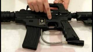 Download Tippmann US Army Alpha Black Tactical & Basic Review by HustlePaintball Video