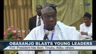 Download OBASANJO BLASTS YOUNG LEADERS Video