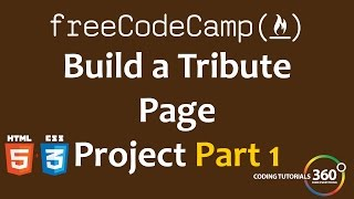 Download Build a Tribute Page Part 1: Free Code Camp Video