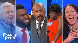 Download Top 10 Moments: The absolute craziest of all crazy from 2017 | Family Feud Video