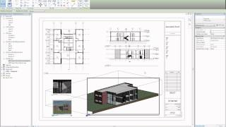 Download 093 Tutorial: How to layout a sheet and print in REVIT Architecture Video