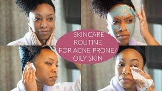 Download UPDATED Skincare Routine for Acne Prone/ Oily Skin | 2016 Video