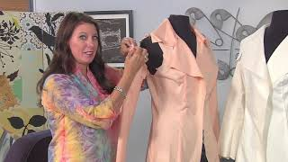 Download Sew a trench coat raincoat on It's Sew Easy along with Angela Wolf (1801-1) Video