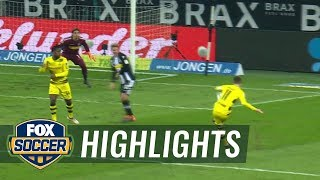 Download Monchengladbach vs. Dortmund | 2017-18 Bundesliga Highlights Video