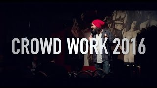 Download CROWD WORK 2016 - stand up comedy from Mike Falzone Video