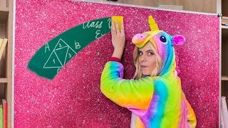 Download 10 DIY Unicorn School Supplies vs Mermaid School Supplies Video