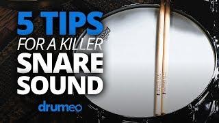 Download 5 Tips For A Killer Snare Sound Video