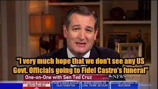 Download Senator Ted Cruz talks Cuba, Trump Cabinet, and Republican Party Video
