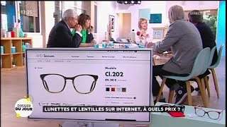 Download Dossier du Jour : Lunettes et lentilles sur internet, à quels prix ? Video