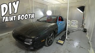 Download $200 DIY Paint Booth Video