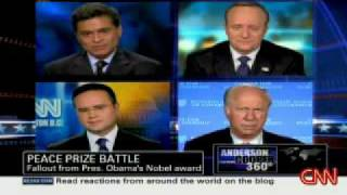 Download OBAMA Nobel Peace Prize Panel Discussion AC360 Video