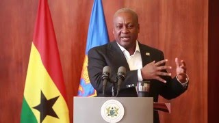 Download President Mahama meets the press- January 2016 Pt 1 Video