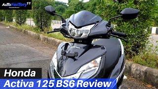 Download Honda Activa 125 BS6 Review - Best In Segment | AutoFactory11 Video