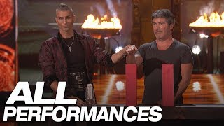 Download Whoa! Dangerous Magic From Aaron Crow! (All Performances) - America's Got Talent 2018 Video
